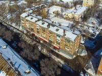 Samara, Maslennikova venue, house 40. Apartment house with a store on the ground-floor