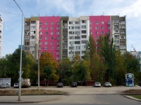 neighbour house: st. Novo-Sadovaya, house 381. Apartment house