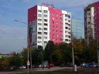 neighbour house: st. Novo-Sadovaya, house 383. Apartment house