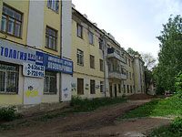 neighbour house: st. Novo-Sadovaya, house 161. Apartment house