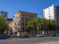 neighbour house: st. Novo-Sadovaya, house 10. Apartment house СамГТУ, учебный корпус №9