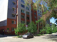 Samara, Nevskaya st, house 7. Apartment house