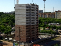 Samara, st Maykopskaya, house 12. building under construction