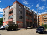 Samara, st S'yezdovskaya, house 10А. Apartment house