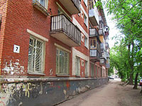 Samara, Sklyarenko st, house 7. Apartment house