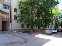 neighbour house: st. Tsiolkovsky, house 1. university СамГТУ, учебный корпус №10