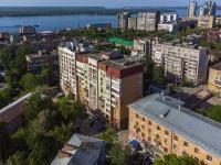 Самара, улица Циолковского, дом 1А. многоквартирный дом