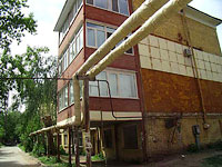 Samara, st Chasovaya, house 8. Apartment house