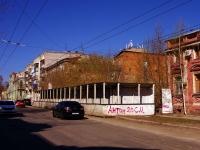 Samara, Aleksey Tolstoy st, house 25. vacant building