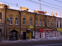 Samara, Ventsek st, house 42. Apartment house with a store on the ground-floor