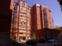 Samara, Vodnikov st, house 49. Apartment house