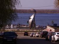 Samara, st Leningradskaya. fountain