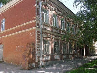 Samara, st Pionerskaya, house 6. sample of architecture