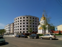neighbour house: st. Pionerskaya. building under construction