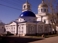 neighbour house: st. Stepan Razin, house 78A. town church ХРАМ В ЧЕСТЬ СВЯТОГО ВОЗНЕСЕНИЯ ХРИСТОВА