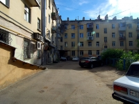 Samara, Voronezhskaya st, house 5. Apartment house with a store on the ground-floor