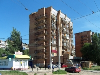 Samara, Zheleznoy Divizii st, house 1. Apartment house