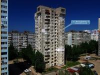 Samara, st Molodezhnaya, house 8. Apartment house