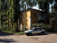 Samara, Teatralny Ln, house 4. Apartment house