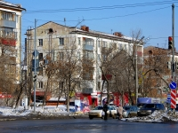 Samara, Gagarin st, house 96. Apartment house with a store on the ground-floor