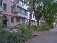 Samara, Novo-Vokzalnaya st, house 42. Apartment house with a store on the ground-floor