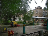 "neighbour house: st. Novo-Vokzalnaya, house 195А. nursery school №460 ""Оло­вян­ный сол­да­тик"""