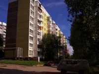 Samara,  1st (Krasnaya Glinka), house 4. Apartment house