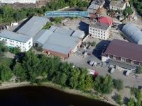 Samara, st Strelka reki samari. multi-purpose building