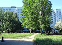 neighbour house: st. Fadeev, house 25. Apartment house