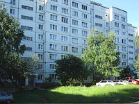 Zhigulevsk, Fadeev st, house 25. Apartment house