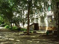 Zhigulevsk, Morkvashinskaya st, house 5. Apartment house