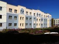 Жигулевск, улица Морквашинская, дом 27. многоквартирный дом