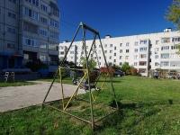 Zhigulevsk, Morkvashinskaya st, house 37. Apartment house