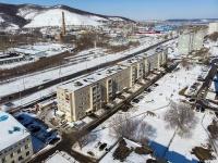 Zhigulevsk, Morkvashinskaya st, house 55. Apartment house
