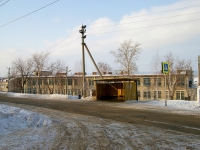 neighbour house: st. Chekhov (Bogatyr). school