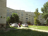 Zhigulevsk, Vokzalnaya st, house 14. Apartment house