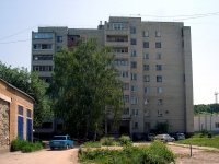 Zhigulevsk, Vokzalnaya st, house 10. Apartment house