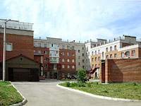 neighbour house: st. Dekabristov, house 14. Apartment house