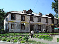 neighbour house: st. Internatsionalistov, house 23. Apartment house