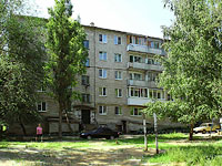 neighbour house: st. Internatsionalistov, house 43. Apartment house