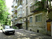 neighbour house: st. Lenin, house 2А. Apartment house