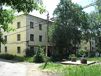 Zhigulevsk, Lenin st, house 4. Apartment house