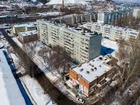 Zhigulevsk, alley Mekhanicheskiy, house 1. Apartment house
