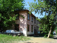 Zhigulevsk, Mira st, house 36А. Apartment house