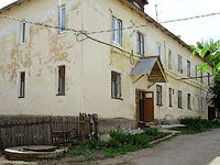 neighbour house: st. Pervomayskaya, house 8. Apartment house