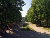 Жигулевск, улица Ленинградская. сквер