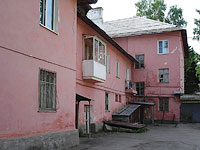 Zhigulevsk, Pobedy st, house 4. Apartment house