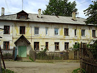 Zhigulevsk, Pobedy st, house 11. Apartment house