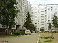 Zhigulevsk, Privolzhskaya st, house 1. Apartment house