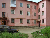 Zhigulevsk, Privolzhskaya st, house 3. Apartment house